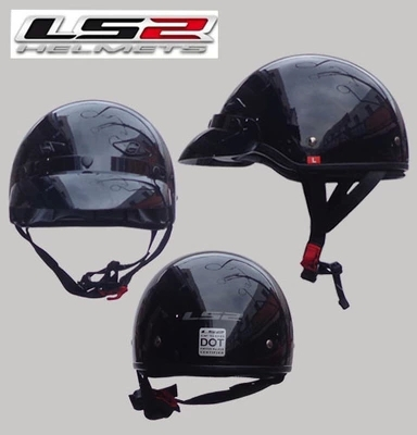 Free shipping genuine mail LS2 OF568 FRP limited edition motorcycle helmet half helmet male and female models<br><br>Aliexpress