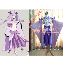 2016 Anime Pokemon Cosplay Espeon Cosplay Costume femmes Halloween Costumes Party Dress personnalisée