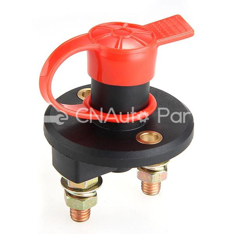 Battery Isolator Cut Off Power Kill Switch 400A 24V+Key+Waterproof Cover(China (Mainland))
