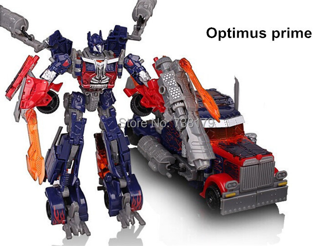 New 2014 Edition Genuine 27cm Optimus Prime Megatron Transformation Robots VOYAGER Action Figures Classic Toys for boy's gifts(China (Mainland))