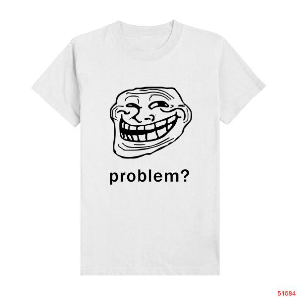 Troll Face t Shirts Problem Trollface Troll Face