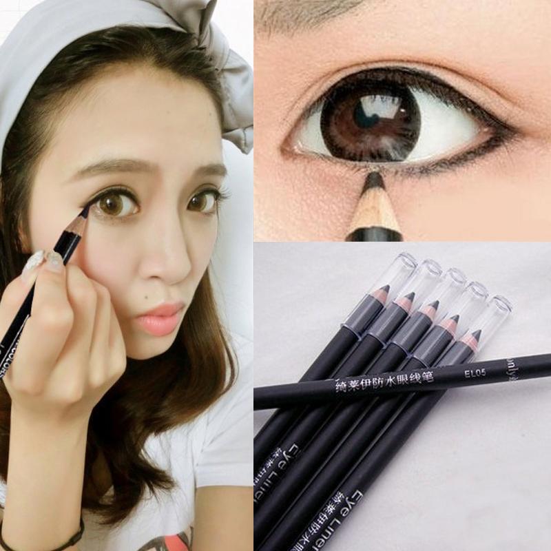 1 PCS New Women Ladies Girls EyeLiner Smooth Waterproof Cosmetic Beauty Makeup Eyeliner Pencil(China (Mainland))