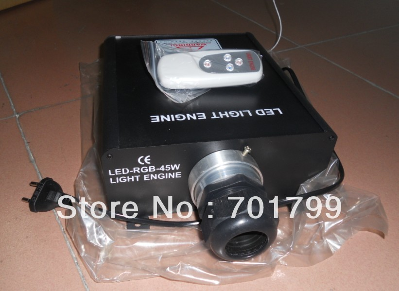 led fiber engine;45W;RGB with remote controller;AC100-240V input;