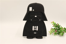 Soft Silicon Case BQ E5 M5 2015 New Star Wars 3D Cartoon Black Darth Vader Shape Protective Cover Phone Bag - Superseller 2014 store