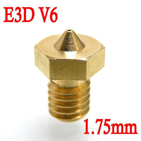 Фото Запчасти для принтера E3D V6 0,2 0,3 , 0,4 , 0,5 1,75 Reprap Makerbot 3D запчасти