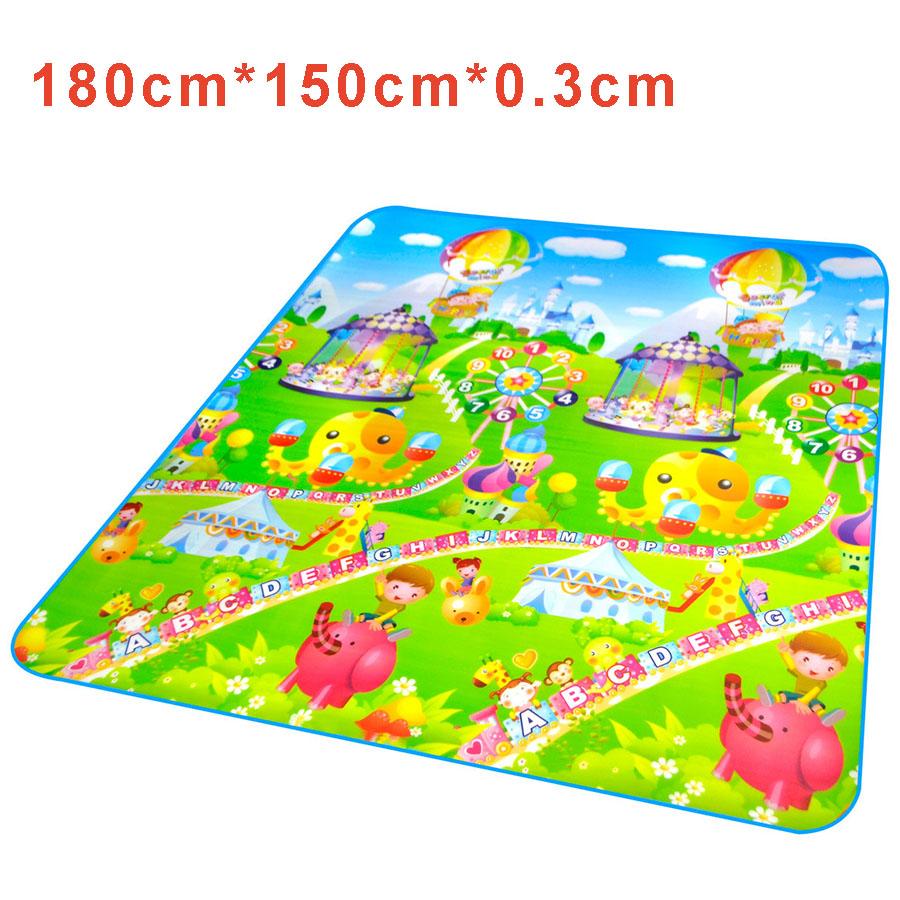 Kids Baby Play Mat Games Carpet Plastic Mat Children Soft
