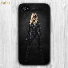 Comic TV Green Arrow Laurel Lance Custom Design Hard Plastic Mobile Phone Bag Case Cover Apple iPhone 4 4s 5 5s 6 6s plus - Cathy(US store Gift Co., Ltd. )