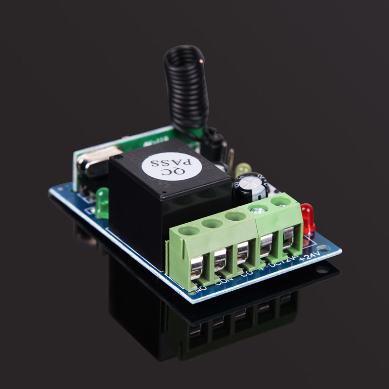 433MHz DC12V 1 Channel Learning Code Wireless Remote Control Relay Mode Free Shipping Mail EMS FeDex