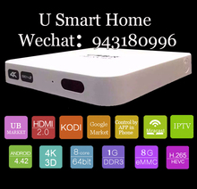 Free shipping 2016 best selling unblock UBOX S800 Plus oversea version 4Core Android 4.4 Wireless wifi connect HD IPTV STB Box(China (Mainland))