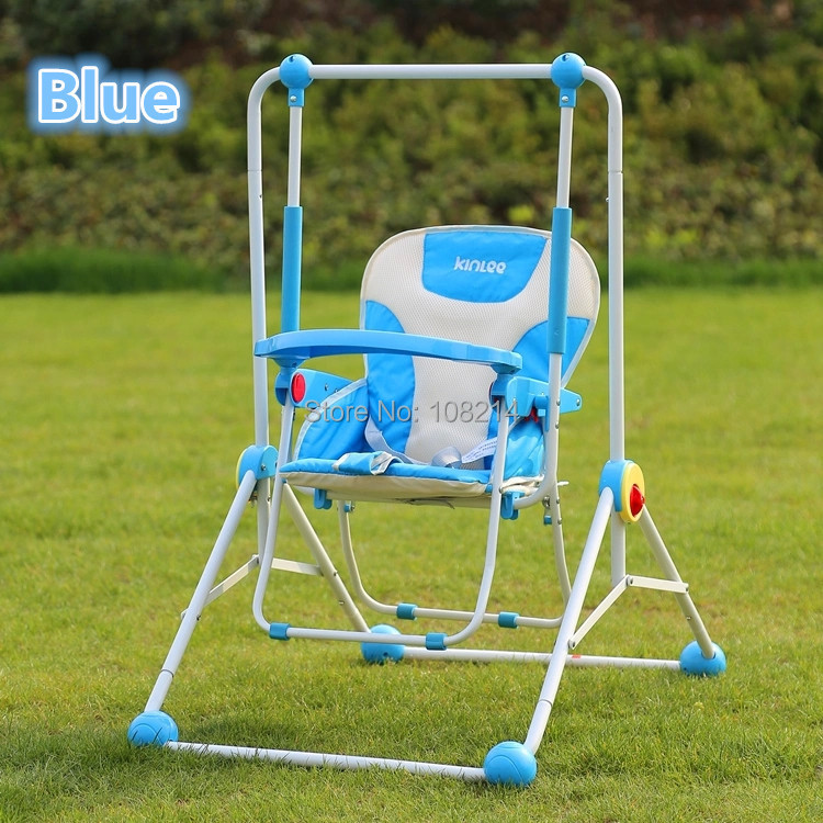 Big discount foldable baby swing cradle indoor multi purpose baby swing dining chair outdoor