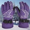 2016 new Women Ski Gloves Snowboard Gloves Motorcycle Riding Waterproof Snow Winds topper Camping Mittens RP
