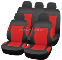 New Brand High Quality Car Seat Covers Universal Fit Polyester with Composite Sponge Car Styling Free Shipping