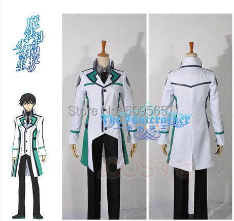 Здесь можно купить  Free Shipping!New 2014 The Irregular at Magic High School Tatsuya Shiba Unifom Oufit Cosplay  Shirts+ jackets+trousers+tie  Одежда и аксессуары