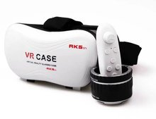 10pcs/lot Different Life 5th VR BOX Virtual Reality 3D Glasses For Cell Phone Smartphone