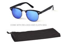 New unisex rb 3016 clubmaster sunglasses Stylish vintage men women UV400 oculos de sol brand designer
