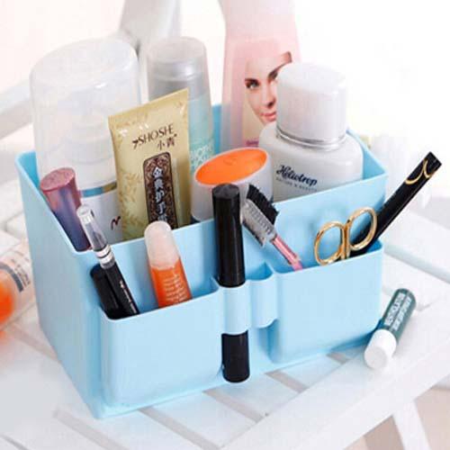 storage box acrylic makeup organizer caixa organizadora organizador de maquiagem plastic storage box desk drawer containers(China (Mainland))