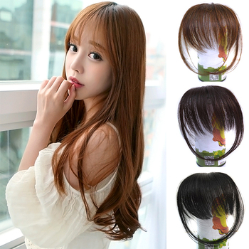 ladies Wig hair High temperature wire fringe temples air fringe #L04705