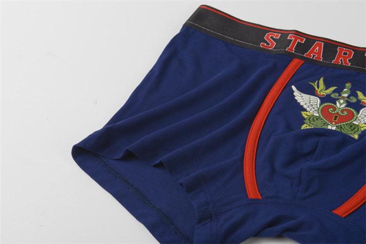 Constellation couple underwear brand Lovers cotton underpants modal panties mens lace boxer shorts femme Panty cueca masculine