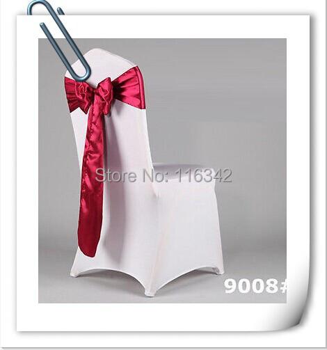 Hot Sale Satin Wedding Sashes Bow Party Bridal Decorating /sash for wedding/joy wang's store/chair cover sash----Free Shipping(China (Mainland))
