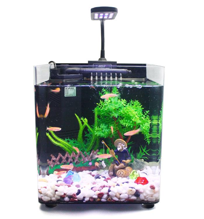 how to make a mini fish tank