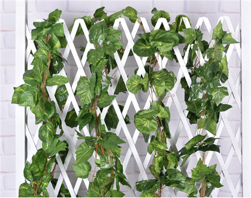 2.6M Artificial Silk Leaf Vine Wall Hanging Floral Decor Ivy Plants Decorative Rattan 36 Pieces Leaves(China (Mainland))