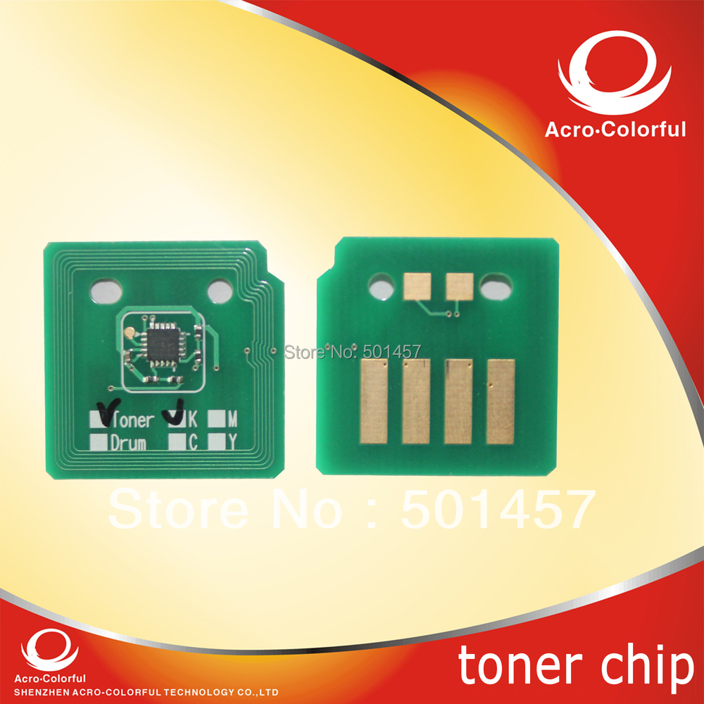 Refilled color toner cartridge reset chip for Dell C7130cdn C7130 7130 Laser printer spare parts(China (Mainland))