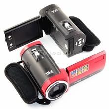 UK/US/AU Stock 2.7'' TFT LCD 180 degrees Rotation Photo Camera 16x Digital ZOOM Digital Photo Cam 720P HD Video Digital Recorder(China (Mainland))