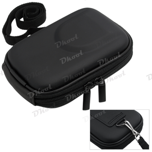 Universal Digital Camera Case Bag Pouch Black Waterproof and shock resistant(China (Mainland))