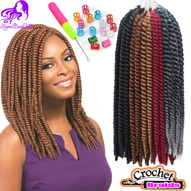 Crochet Box Braids 12 Inch : Crochest Box Braids Hair Extensions Ombre Kanekalon Synthetic Braiding ...