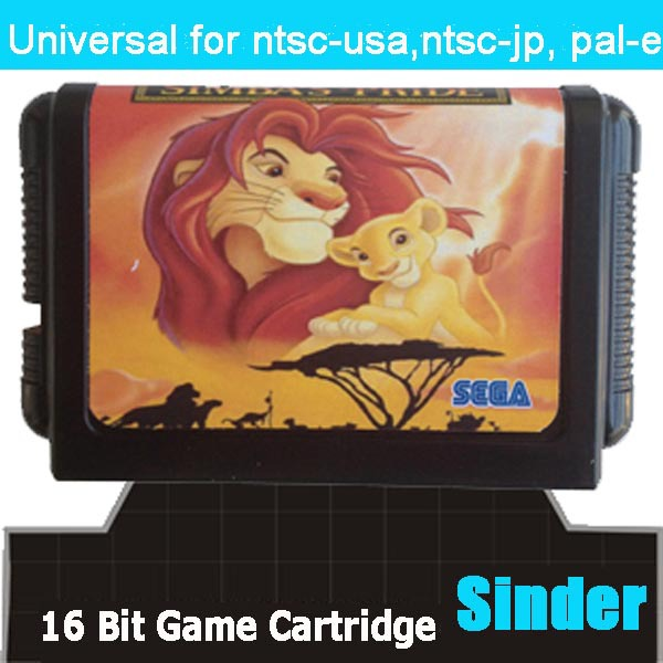 Lion King II : 100% Brand new 16 bit MD card for Sega MegaDrive Video Game Console Hot Sale!(China (Mainland))