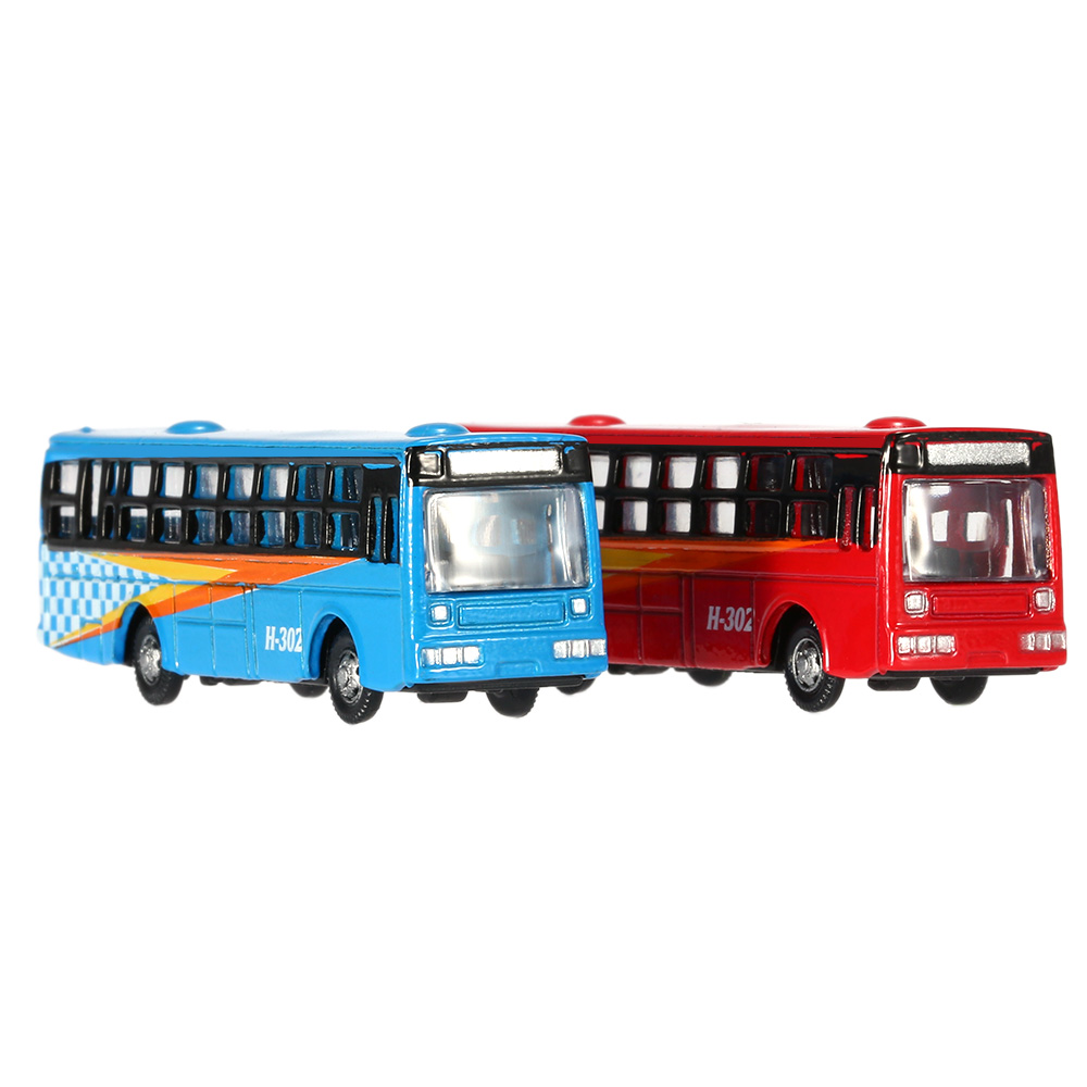 6 PCS/lot Alloy Tire Frame Bus Model Cool Styling Vehicle Model Car for Baby Kids Intelligence Development Toy Best Gift 1:150(China (Mainland))