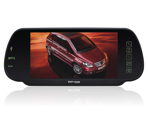 auto monitor 7.0 TFT Color Car LCD Monitor with MP5 ,Bluetooth,USB,SD card,FM ,game camera monitor<br><br>Aliexpress