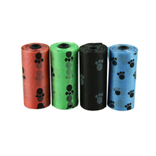 Delicate 10Roll Degradable Pet Dog Waste Poop Bag With Printing Doggy Bag Hot Selling