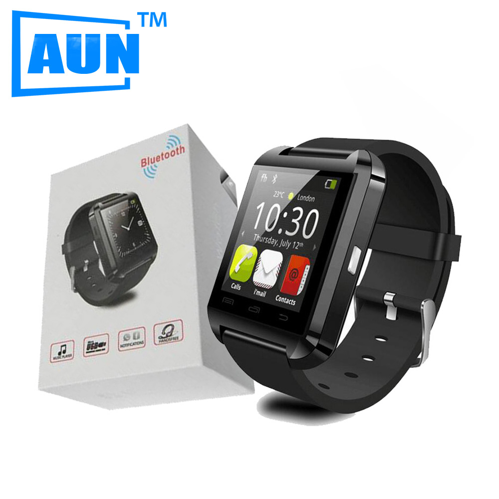 AUN 2016 Bluetooth <font><b>Smart</b></font> <font><b>Watch</b></font> with Pedometer Altimeter 160mAh Battery SmartWatch for Samsung S4/Note2/3 HTC <font><b>LG</b></font> Xiaomi Android