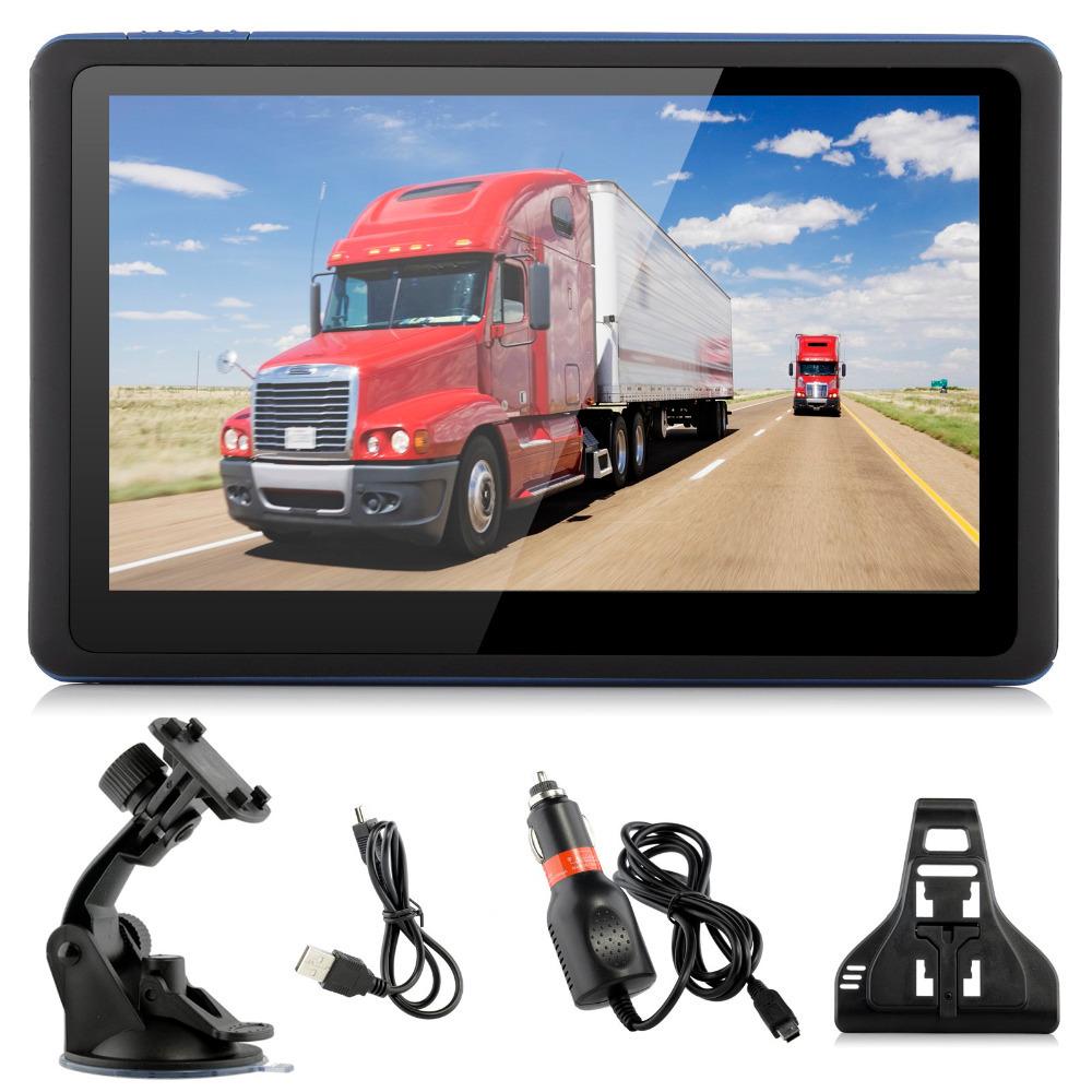 XGODY Brand 5'' Inch 128M 8GB Car Truck GPS Navigation Navigator SAT NAV FM/Video/MP3/MP4 Lifetime Free Maps Update