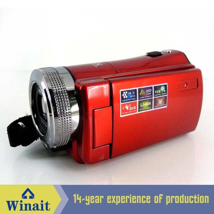 "2.7"" TFT LCD 16MP Digital Camera HD 720P Photo Video Camcorder 16X Zoom Anti-shake DV LED Fill Light Non-touch Cheap Camera(China (Mainland))"