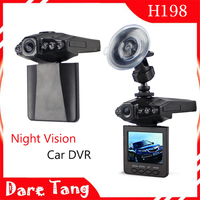Cheapest factory offer 2.5 inch FULL HD Night Vision Motion Detection Car Camera Dash Camera H198