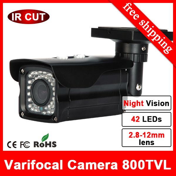 HD Bullet waterproof outdoor thermal CCTV Cameras 960H HD security surveillance night vision IR Cut inbuilt 800tvl CCTV Camera(China (Mainland))
