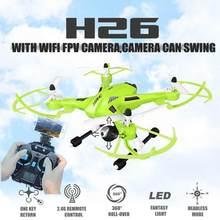 Drones com Câmera Fpv hd Jjrc H26 Balanço wi fi Radio Hexacopter Profissional rc Quadcopter Helicóptero