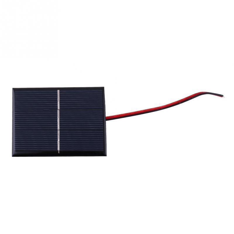 0.65W 1.5V Polycrystalline Silicon Solar Panel Mobile Phone Digital Products Portable Black Solar Panels(China (Mainland))