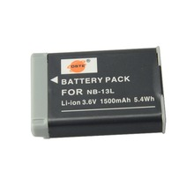DSTE NB-13L Rechargeable Li-on Battery  For Canon G7X Camera New