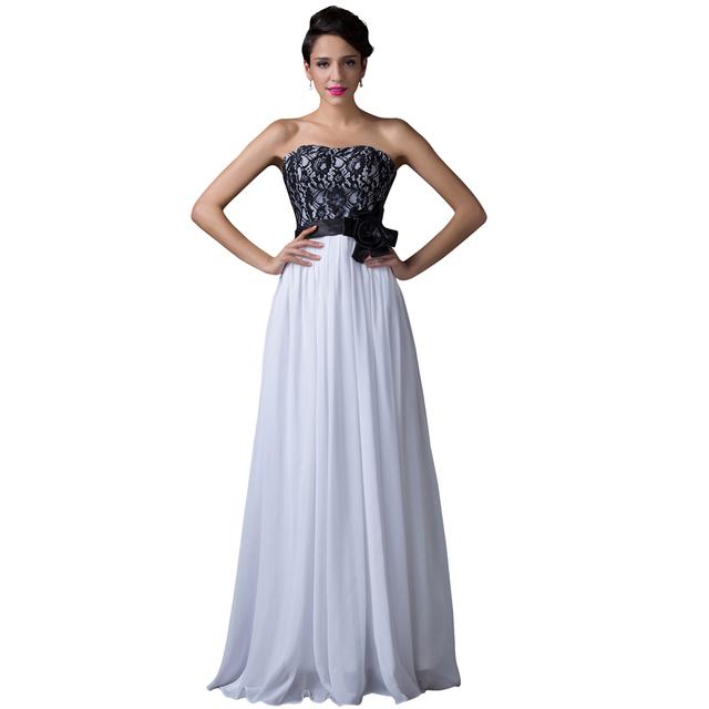 Настоящее фото длинное вечернее платье платье без бретелек видеть сквозь назад кружева ...
