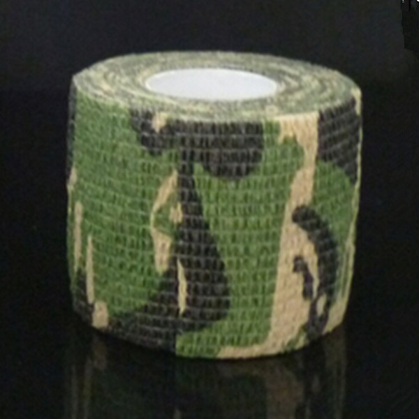 3 Rolls New Arrived 5CM 4 5M Army Camo Wrap Rifle Shooting Hunting Camouflage Stealth Tape