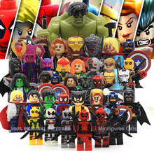 Marvel The Avengers 2 Age of Ultron Action Civil War Minifigures Hulk Iran Man Captain America Building Blocks Kid's Gift(China (Mainland))