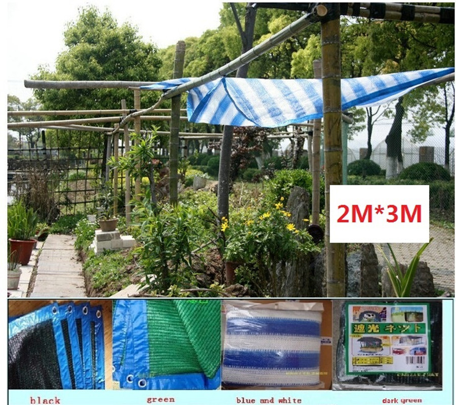2 3m Garden Tent Mesh Network Fabric Shade Hdpe 3 6 Needles Vegetable Shed Sun Shading Net