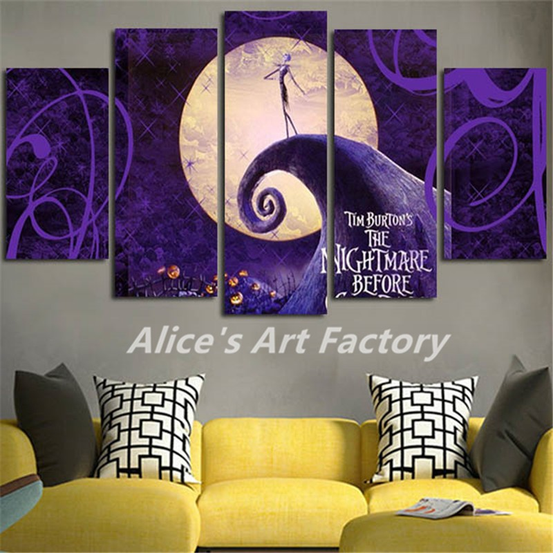 nightmare before christmas wall decor - best wall 2017