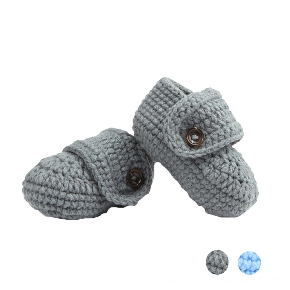 Crib Crochet Casual Baby Handmade Knit Sock Infant Shoes(China (Mainland))