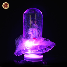 Buy WR Love Music Box Christmas Gifts Romantic Glass LED Sonw Ball New Year Party Decoration Valentine Day Gift Ideas for $16.24 in AliExpress store