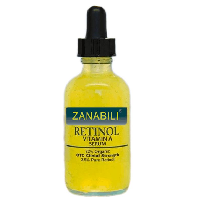 Pure Retinol Vitamin A 2.5% + Hyaluronic Acid Skin Care Acne Cream Removal Spots Facial Serum Anti Wrinkle Whitening Face Cream(China (Mainland))