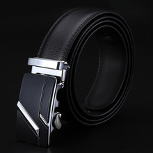 Buy 2016LGFDB32 Men cowhide OFFICE DRESS genuine leather ratchet belts cowhide strap 140 cm 110cm 150cm for $4.00 in AliExpress store